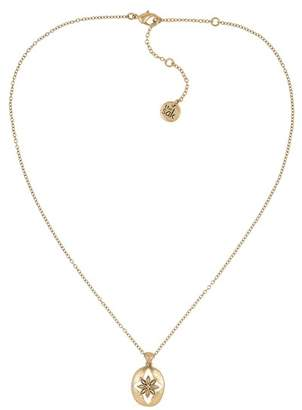 The Sak Floral Oval Pendant Necklace