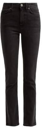 MiH Jeans Daily High Rise Slim Leg Jeans - Womens - Black