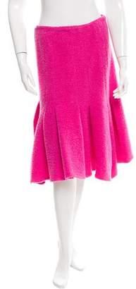 Thakoon Godet Pleated Skirt