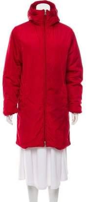 Prada Knee-Length Padded Coat
