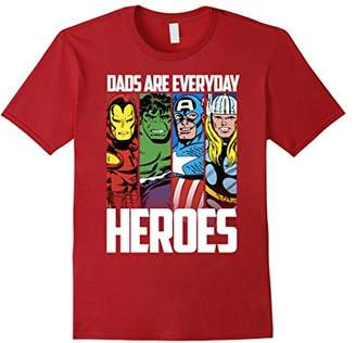 Marvel Avengers Father's Day Everyday Heroes Graphic T-Shirt