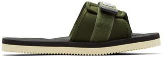 Suicoke Green Padri Sandals