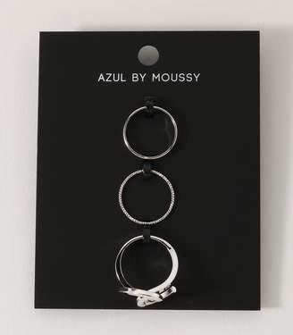 AZUL by moussy (アズール バイ マウジー) - 《WEB限定サマーセール》スカシクロスセットリング