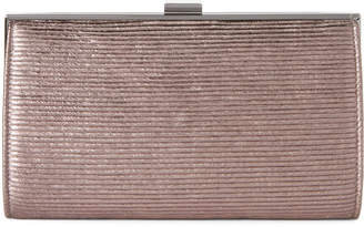 La Regale Bronze Sparkle Clutch
