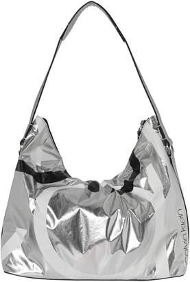 Calvin Klein Loud Mettalic Hobo Bag