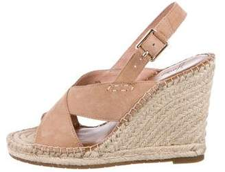 Joie Suede Wedge Sandals
