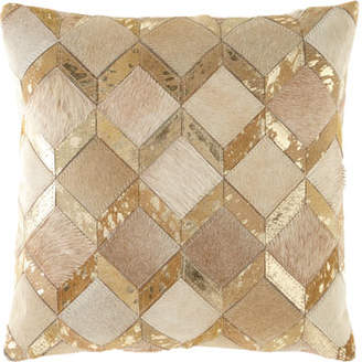 Noury Diamond Chevron Pillow