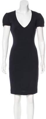 L'Agence Short Sleeve Sheath Dress