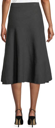 Tommy Hilfiger Ribbed Trumpet Sweater Skirt