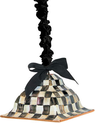 Mackenzie Childs Courtly Check Square Hanging Lamp