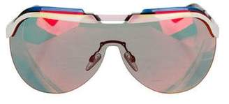 9067e69b1b Pre-Owned at TheRealReal · Christian Dior Solar Shield Sunglasses