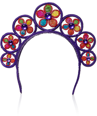 Magnetic Midnight Flower Power Crown