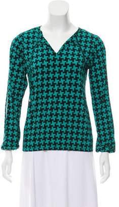MICHAEL Michael Kors Printed Knit Top