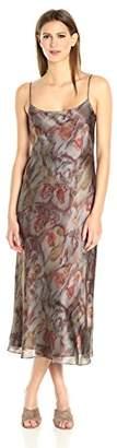 Vince Women's Watercolor Print Slip Dress