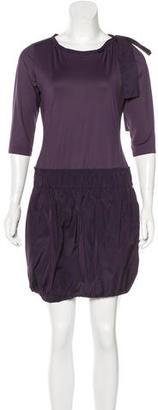 Twin.Set Three-Quarter Sleeve Mini Dress $65 thestylecure.com