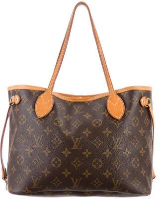 Louis Vuitton Monogram Neverfull PM $795 thestylecure.com