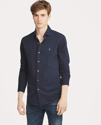 Ralph Lauren Custom Slim Fit Mesh Shirt