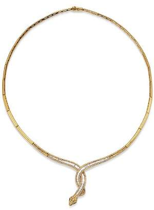 Bloomingdale's Diamond Snake Necklace in 14K Yellow Gold, 1.85 ct. t.w. - 100% Exclusive