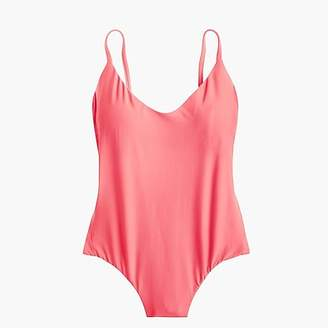 J.Crew Ruched back one-piece swimsuit
