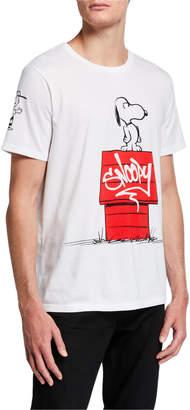 Eleven Paris Men's Snoopy Graphic Cotton T-Shirt