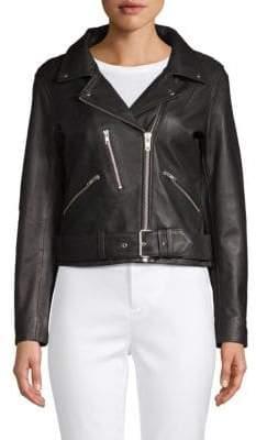 Moto Classic Leather Jacket