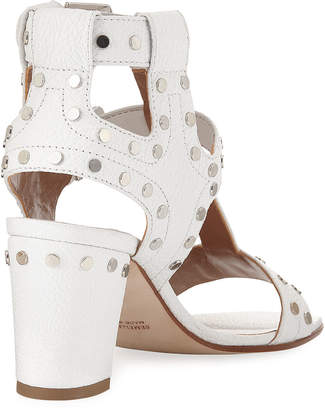 Laurence Dacade Helie Studded Leather Sandal