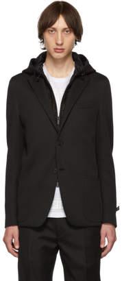 Fendi Black FF Zip-Away Blazer