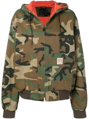 R 13 military printed bomber jacket