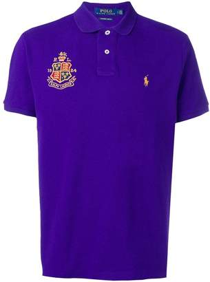Polo Ralph Lauren crest logo polo shirt