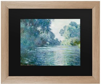 Trademark Fine Art Branch Of The Seine Near Giverny Wall Art