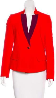 Marc by Marc Jacobs Contrast Button-Up Blazer