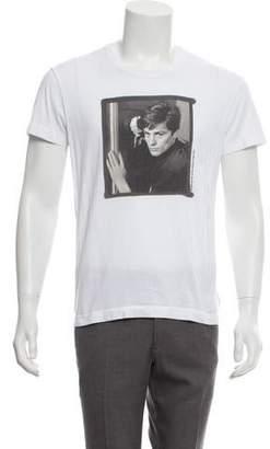 Dolce & Gabbana Alain Delon Printed Short Sleeve T-Shirt