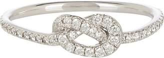 Finn Women's Pavé Love Knot Ring