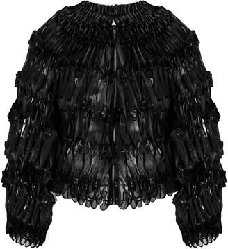 Comme des Garcons ribbon embellished bomber jacket