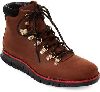 Cole Haan Dark Coffee & Black Zerogrand Hiker Boots