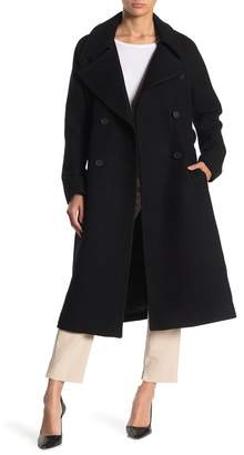 Andrew Marc Wool Blend Longline Coat