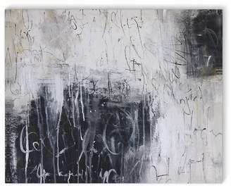 Williston Forge 'Chalkboard Abstract' Rectangle Painting Print on Canvas