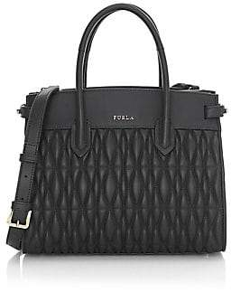 Furla Women's Small Pin Cometa Leather Tote