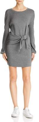 Milly Tie-Waist Sweater Dress