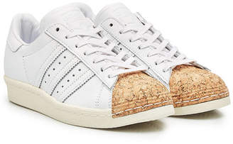adidas Superstar Leather and Cork Sneakers