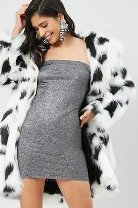 Forever 21 Glitter Mini Tube Dress