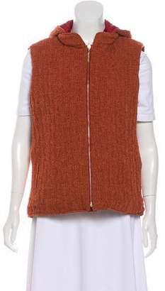 St. John Sport Wool Reversible Vest