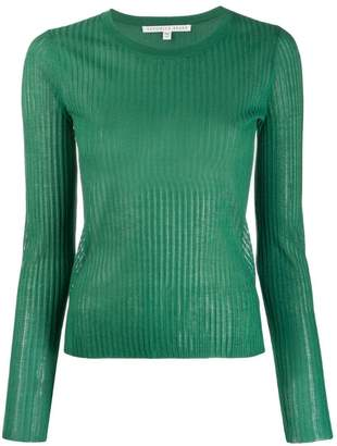 Veronica Beard ribbed knit top