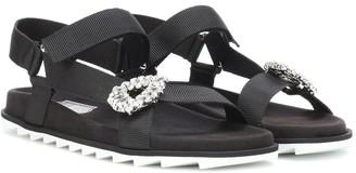 Roger Vivier Crystal-embellished sandals