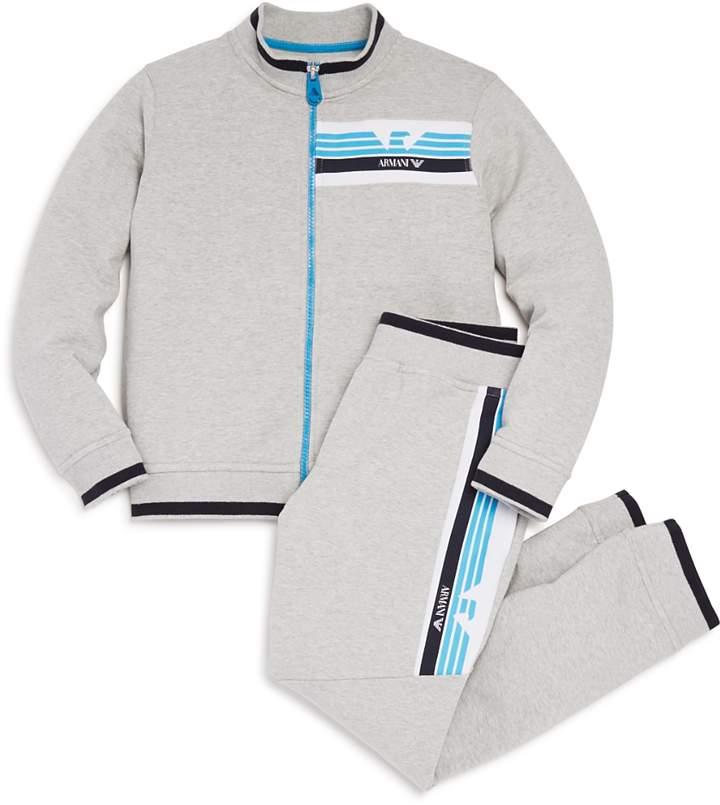 Boys' Track Jacket & Jogger Pants Set - Little Kid, Big Kid