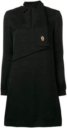 Class Roberto Cavalli logo print shirt dress