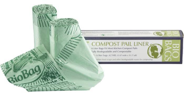 Biobag Compost Pail Liners Set of 50