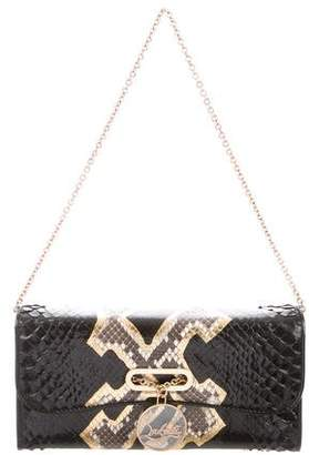 Christian Louboutin Python Shoulder Bag