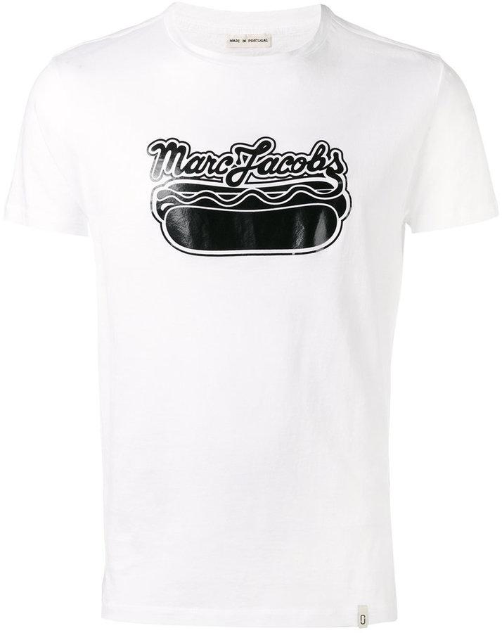 Marc Jacobs logo hot dog T-shirt