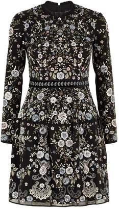 Needle & Thread Ella Floral Embroidered Prom Dress